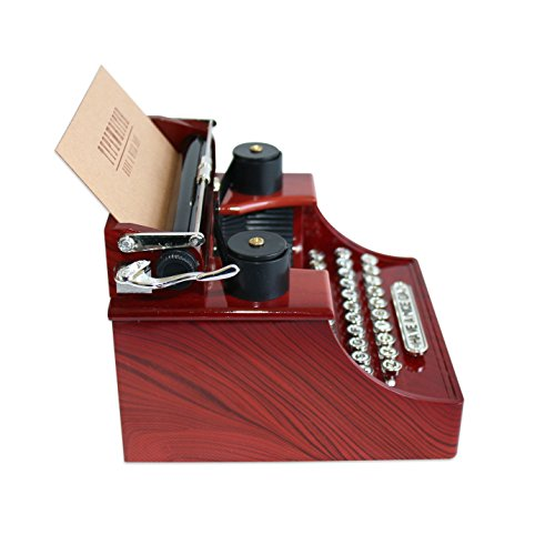 Alytimes vintage typewriter music box for home office for Room decoration products