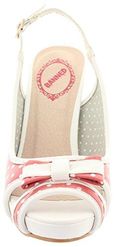 Banned - Zapatos de vestir de Material Sintético para mujer Rojo - rojo