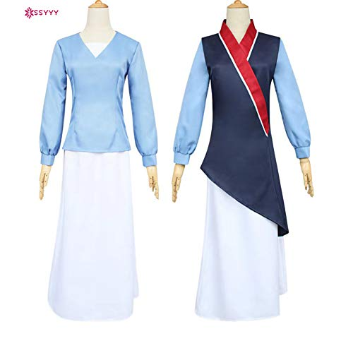 SSYYY Cosplay Mulan, Hanfu Vintage Ancient Costume Chinese for ...