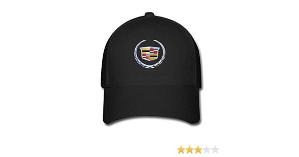 HOIUK Cadillac Logo 2016 Nice Baseball Caps For Everyone Black hats at  Amazon Men s Clothing store  612841bc591