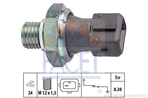 Facet - Engine Oil Pressure Switch - 7.0071