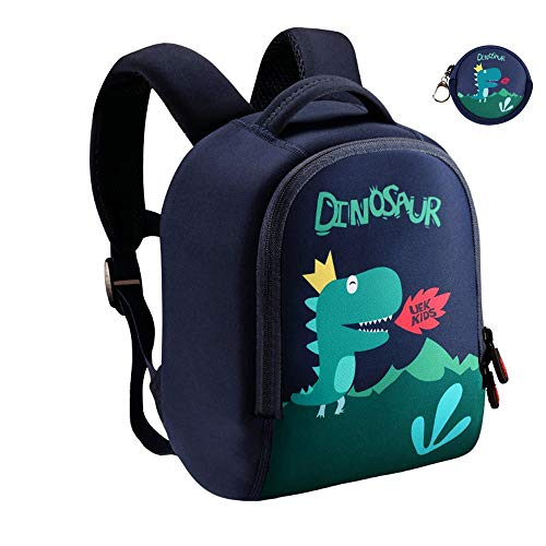 Lehoo Castle Dinosaur Backpack for Boy, Toddler Boy Backpack for 4-6 Years Old, Dino Backpack for Toddler, Dinosaur Bag Dinosaur Gifts for Boys (Large)