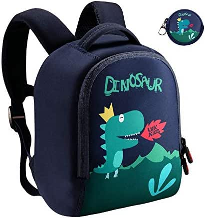 Lehoo Castle Dinosaur Backpack for Boy, Toddler Boy Backpack for 4-6 Years Old, Dino Backpack for Toddler, Dinosaur Bag Dinosaur Gifts for Boys (Large)