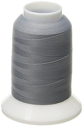 Woolly Nylon Thread Solids 1000 Meters-Grey - Solid Grigio Lana