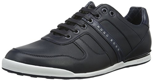 BOSS Green Men's Arkansas_Lowp_lt 10191565 01 Low-Top Sneakers, Blue Blue (Dark Blue)