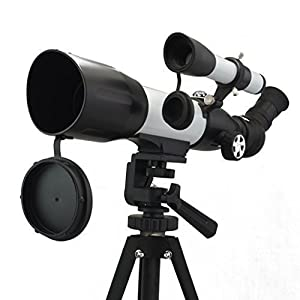 Bial 350X60mm Binoculars Monocular Astronomical Telescope w/ Tabletop Tripod & Compass & Carry Case