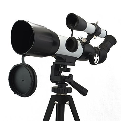 Bial 350X60mm Binoculars Monocular Astronomical Telescope w/Tabletop Tripod & Compass & Carry Case by BIAL