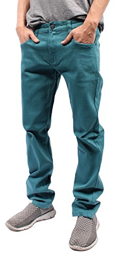 light blue colored jeans - 6