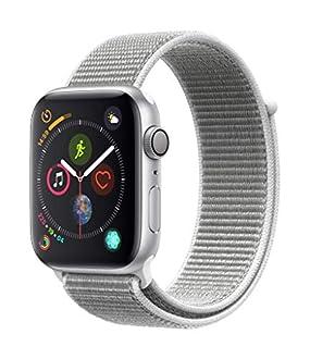 Apple Watch Series 4 (GPS, 44mm) - Silver Aluminium Case with Seashell Sport Loop