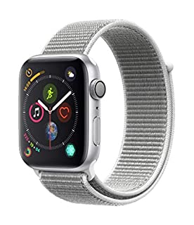 Apple Watch Series 4 (GPS, 44mm) - Silver Aluminium Case with Seashell Sport Loop (B07HDF7BLP) | Amazon price tracker / tracking, Amazon price history charts, Amazon price watches, Amazon price drop alerts