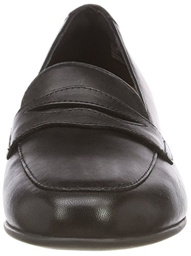 Mocassins Noir Leather black Clarks Un Blush Go Femme qf1xtnX07w