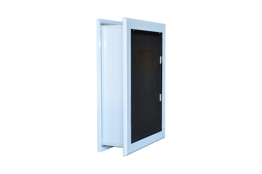 "Dog Door for Walls - - Small Single Flap 6 5/8"" X 9 7/16"""