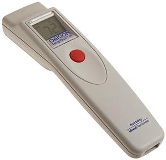 """Oakton WD-35625-15 Food TempTestr Mark-I IR Thermometer, -25 to 400°F, 7-1/4"""" L x 1-3/4"""" W x 1-1/2"""" H"""