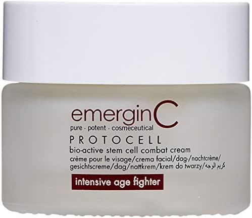 emerginC Protocell Anti Aging Face Cream - Bio-Active Plant Stem Cell Moisturizer with Hyaluronic Acid (1.7 Ounces, 50 Milliliters)