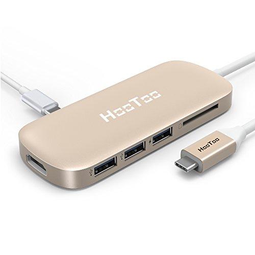 HooToo USB C ハブ mac macbook マックブック Typ...