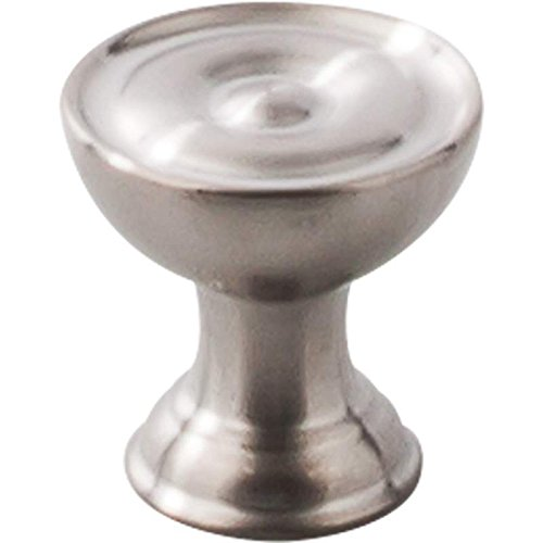 Top Knobs SS42 Round Knob, Brushed Stainless Steel