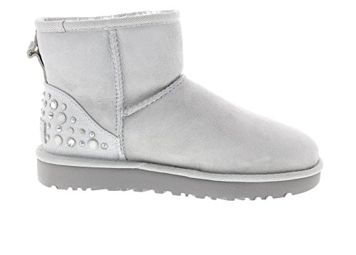 Boots Grey Studded Grey Mini Snow Bling UGG Violet Women's Australia 7YqTAT