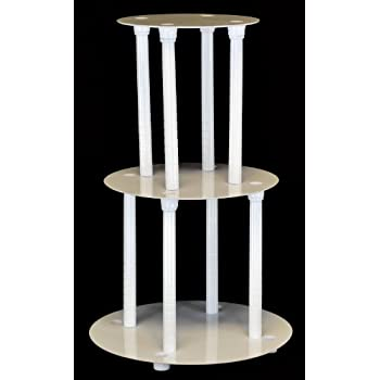 Tier Wedding Cake Stand Separator And Pillar Set