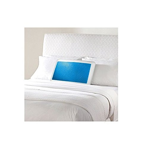sharper-image-gel-memory-foam-pillow