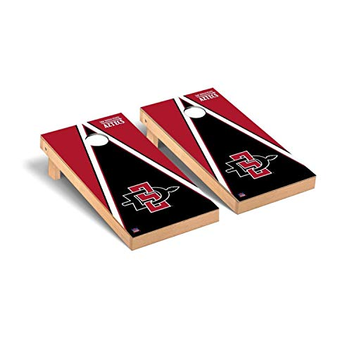 Victory Tailgate San Diego State University SDSU Aztecs Regulation Cornhole Game Set Triangle Version