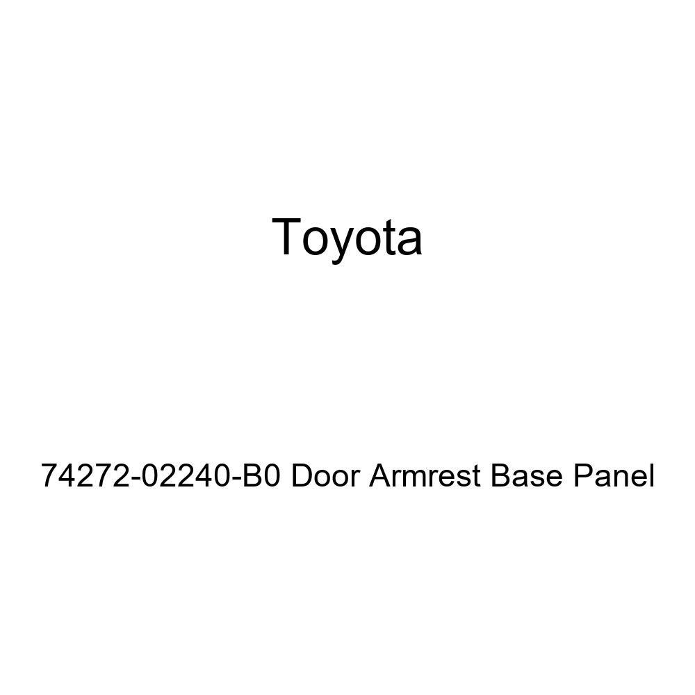TOYOTA Genuine 74272-02240-B0 Door Armrest Base Panel