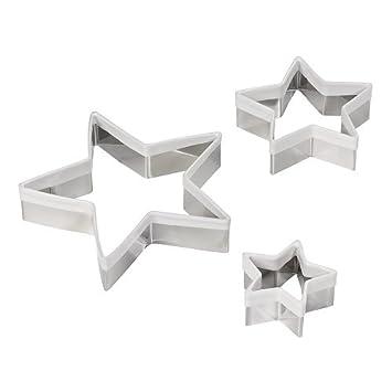 Dexam Tinplate Feet Cookie Cutters Set of 3