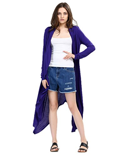 Milkuu Womens Open Front Waterfall Cardigan product image