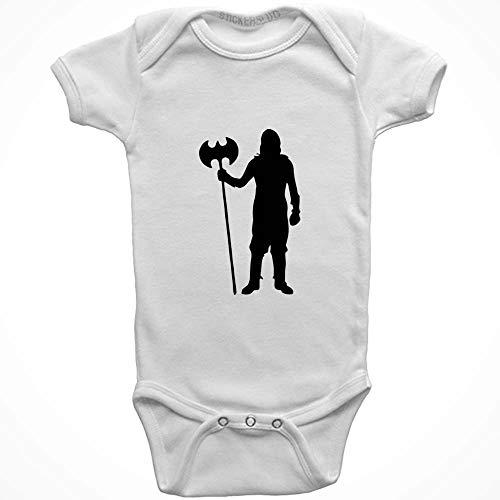 Stickerslug Knight Onesie Baby Clothes Jumper (White, Newborn) b20915