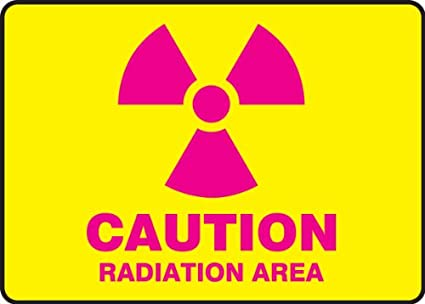 10 Length x 14 Width x 0.055 Thickness LegendCAUTION RADIATION AREA with Graphic Magenta on Yellow LegendCAUTION RADIATION AREA with Graphic 10 Length x 14 Width x 0.055 Thickness Accuform Signs Accuform MRAD500VP Plastic Safety Sign