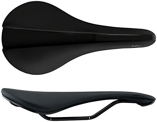 Fabric Line Shallow Wide Elite Saddle (Black) (142mm)