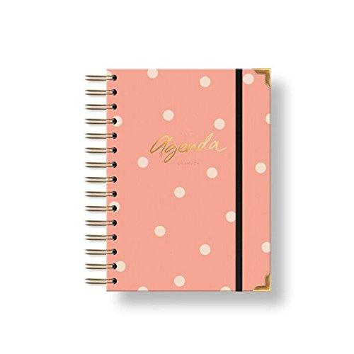 Charuca AG36 - Agenda 18-19, mediana, color rosa