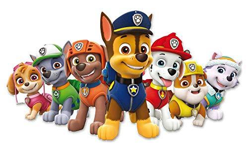 0866, Cartone Supersilueta Canine Patrol, Multicolore, per Feste e Compleanni, 95 cm 1 spesavip