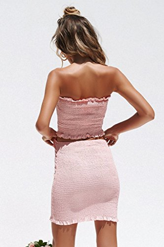 d11763f75f RUIGO ® Sexy Deep V-Neck Backless Sequin Bodycon Prom Cocktail Dress (M