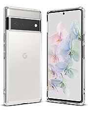 Ringke Fusion Kompatibel med Google Pixel 6 Pro (2021) Skal Fodral Genomlysande PC Skyddande Bakskal med TPU Stötfångare - Matte Clear