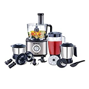 Bajaj FX-1000 1000-Watt Food Processor (Black/Silver)