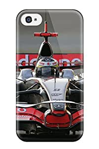 HeKUTQg1310YVGDb Case Cover Mclaren F1 Car Iphone 4/4s Protective Case