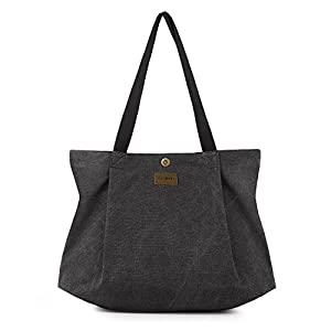 SMRITI Canvas Tote Bag for School Work Travel