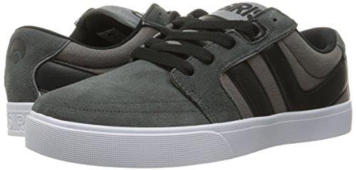 OSIRIS Skateboard Shoes LUMIN GREY/WHITE/BINGAMAN Size 13