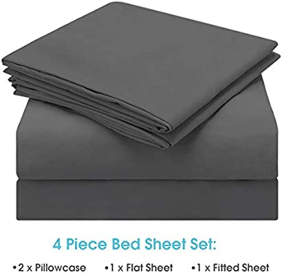 Full, Burgundy Wrinkle /& Fade Resistant - Super Soft 1800 Thread Count 100/% Microfiber Sheets with Deep Pockets BYSURE Hotel Luxury Bed Sheets Set 6 Piece