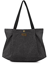 SMRITI Canvas Tote Bag for Women School Work Travel and Shopping