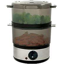 Chef Buddy 72-9093 400-Watt Stainless Steel Food Steamer, 4-Quart