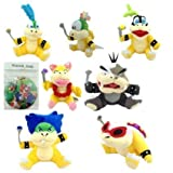 super mario plush toys bowser - One Set of 7 Super Mario Koopalings Larry Iggy Lemmy Roy Ludwig Wendy Morton Plush Toy