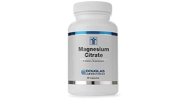 Citrato De Magnesio (150 Mg. Magnesio) 90 cápsulas de Douglas Laboratories: Amazon.es: Salud y cuidado personal