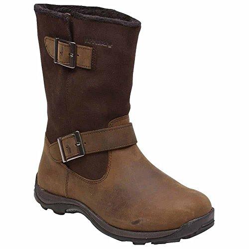 Baffin Danka Boot Size 7 Bellw009 Br5 Womens Winter Boots Worn Brown
