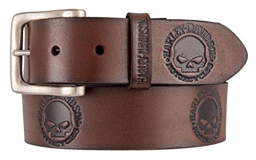 Embossed Skull Belt - 6