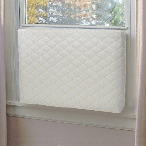 Indoor Air - Foozet Indoor Air Conditioner Cover Double Insulation, Large Beige