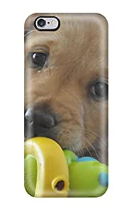 Fashion Protective Labrador Retriever Puppies Case Cover For Iphone 6 Plus