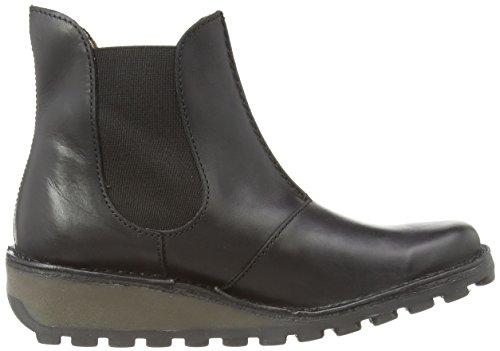 Boots London Womens Muna Leather EU Black Fly 40 qaXwvnvA