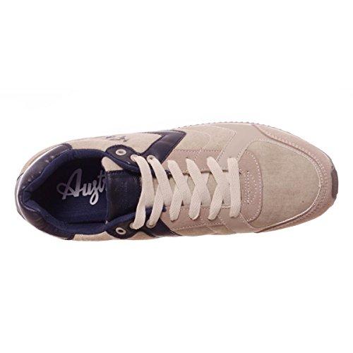 Australian AU227 uomo, pelle scamosciata, sneaker bassa