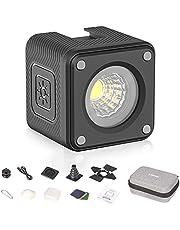 ULANZI Cute Lite Mini Cube LED Video Light Kit, IP68 Waterproof Camera Lighting Kit with Multi-Accessories, Dimmable Portable Fill Photography Light 5500K CRI95+ for DSLR Camera Sony Canon Nikon